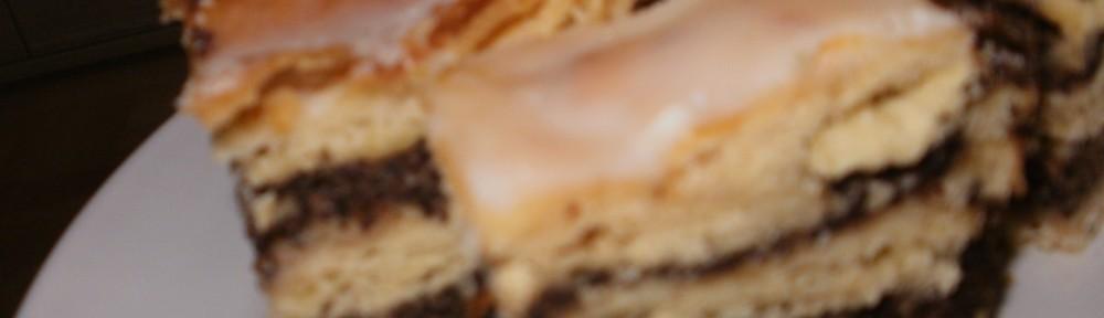 makowiec krucho-drożdżowy nie zawijany