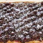 mazurek wiśniowo-czekoladowy