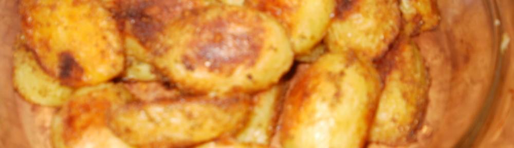 ziemniaki pieczone rumiane