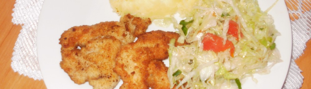 pierś z kurczaka z sałatą lodową