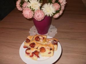 ciasto nr 2 ze śliwkami
