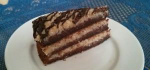 tort czekoladowy kokos orzech toffi