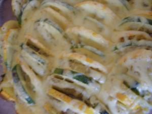 zapiekanka ziemniaki cukinia