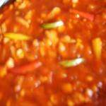 sos kurczakowo-pomidorowo-paprykowy