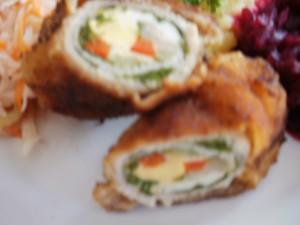 roladki jarmuż jajko papryka