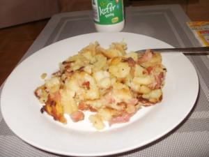 ziemniaki smażone z dodatkami