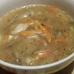 zupa boczniakowa