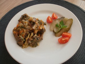 sos pieczarkowo-warzywny
