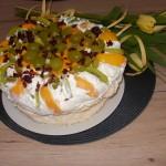 tort bezowy Zimowa Pavlowa