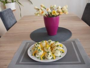jaja faszerowane wiosenne