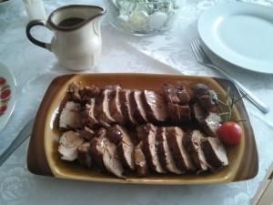 polędwiczki wieprzowe pieczone