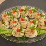 jaja-faszerowane-tuńczykiem