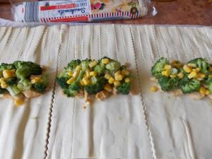kurczak w cieście fr z brokułami