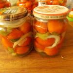 pomidory w pysznej zalewie