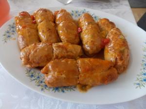 roladki ze schabu i piersi kurczaka w duecie