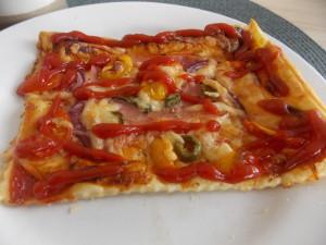 pizza na francuskim cieście