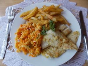 Ryba z piekarnika pieczona w folii