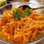 surówka z marchewki, jabłka i pomarańczy
