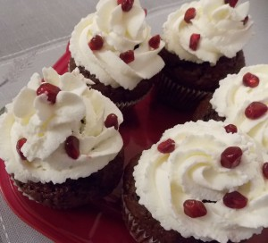 muffinki czekoladowe z granatem (3a)