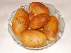 pierożki drożdżowe pieczone II