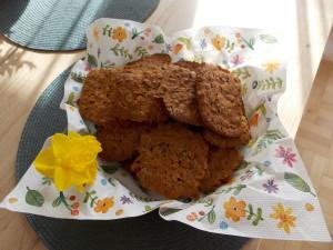 ciasteczka owsiane z zurawina