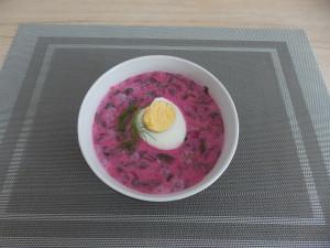 zupa chlodnik z botwinki