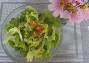 sałata zielona w sosie winegret (3)