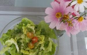 sałata zielona w sosie winegret (4)