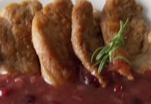 polędwiczki wieprzowe w sosie żurawinowym2