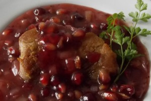 polędwiczki wieprzowe w sosie z granatu1
